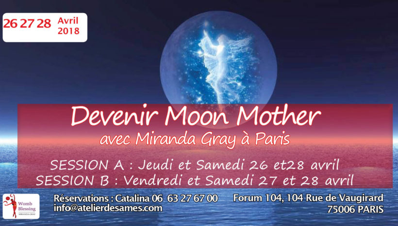 Dévenir Moon Mother avec Miranda Gray